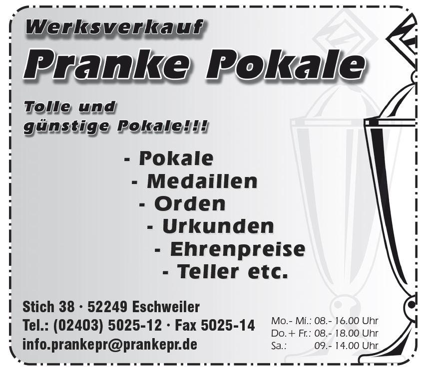 Franke-Pokale